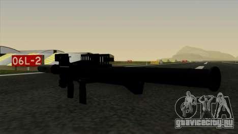 Homing Rocket Launcher для GTA San Andreas третий скриншот