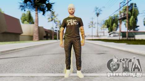 Personalized Skin from GTA Online для GTA San Andreas второй скриншот