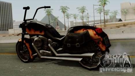 Freeway Diablo для GTA San Andreas вид сзади слева