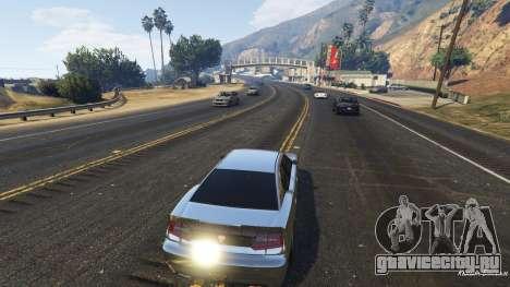 Реалистичная скорость автомобиля 1.3 для GTA 5