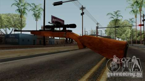 Original HD Sniper Rifle для GTA San Andreas третий скриншот