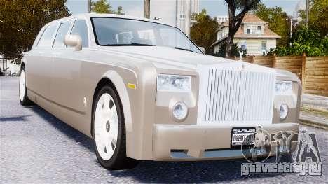 Rolls-Royce Phantom LWB для GTA 4 вид изнутри
