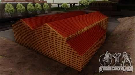 Новые текстуры старого гаража в Doherty для GTA San Andreas пятый скриншот