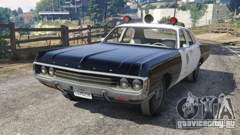 Dodge Polara 1971 Police v3.0 для GTA 5