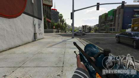 Hyper Beast Edition: AWP для GTA 5 третий скриншот