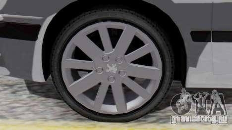 Peugeot 406 для GTA San Andreas вид сзади слева
