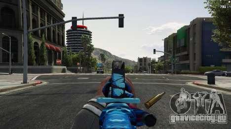 Hyper Beast Edition: M4A1-S для GTA 5 пятый скриншот