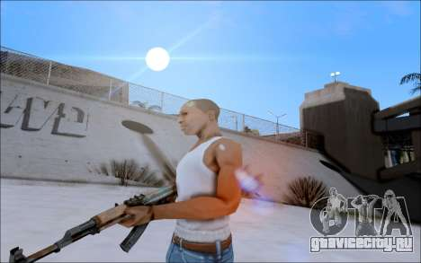 AK-47 Soviet для GTA San Andreas второй скриншот