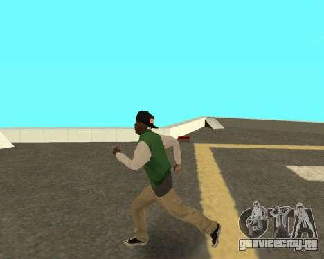 Новый парень на районе Грув Стрит для GTA San Andreas третий скриншот