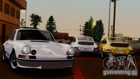 Porsche 911 Carrera RS 2.7 Sport (911) 1972 HQLM для GTA San Andreas