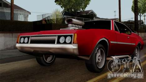 Muscle-Clover Beta v2 для GTA San Andreas вид изнутри