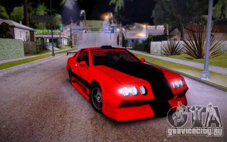 Buffalo GTR для GTA San Andreas вид справа