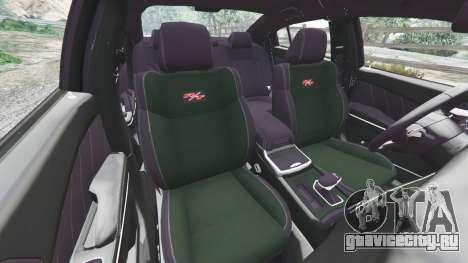 Dodge Charger RT 2015 v1.1 для GTA 5 вид спереди справа