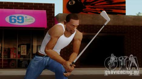 Original HD Golf Club для GTA San Andreas