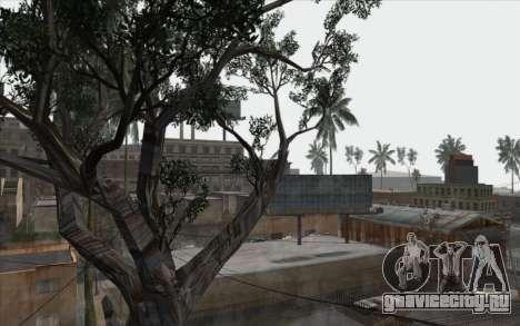 Деревья из WarFace для GTA San Andreas шестой скриншот