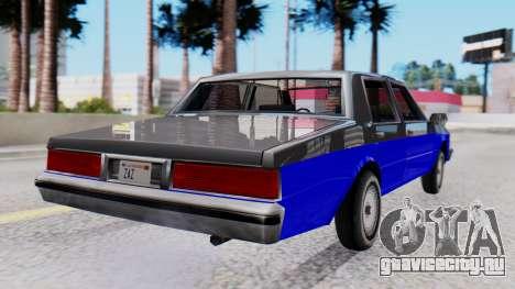 Chevrolet Caprice 1980 SA Style Civil для GTA San Andreas вид слева