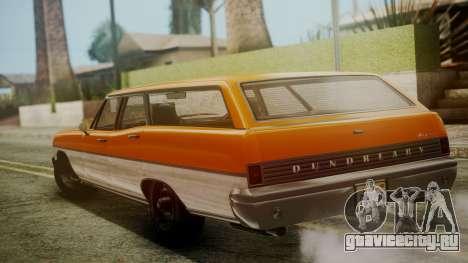 GTA 5 Dundreary Regina для GTA San Andreas вид слева