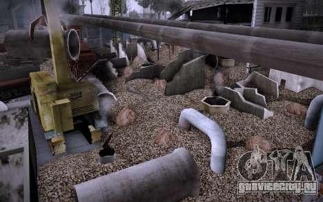 Стройка на Grove Street v0.1 Beta для GTA San Andreas шестой скриншот