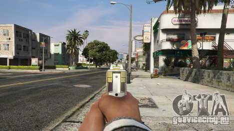 Asiimov Pistol.50 для GTA 5 шестой скриншот