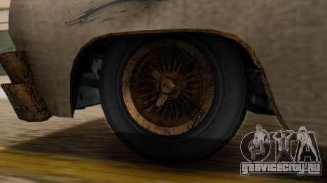 GTA 5 Declasse Voodoo Worn IVF для GTA San Andreas вид сзади слева