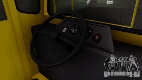 DAC 120DE для GTA San Andreas вид справа