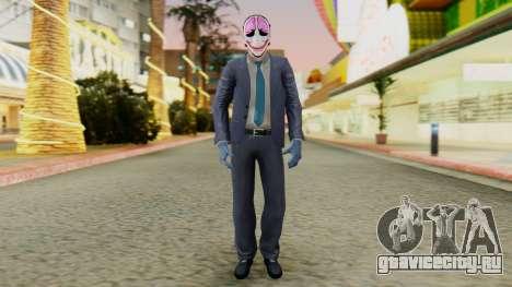 [PayDay2] Hoxton для GTA San Andreas второй скриншот