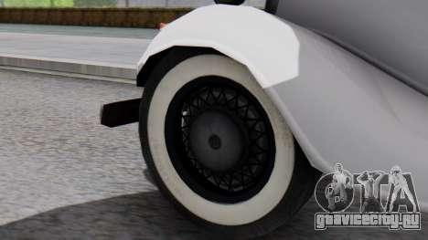 Smith V8 from Mafia 2 для GTA San Andreas вид сзади слева