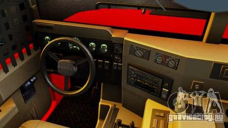 Hummer H1 1993 Baja Edition для GTA San Andreas вид справа
