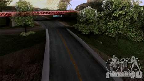 Roads Full Version LS-LV-SF для GTA San Andreas второй скриншот