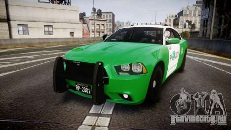 Dodge Charger Carabineros de Chile [ELS] v2.0 для GTA 4