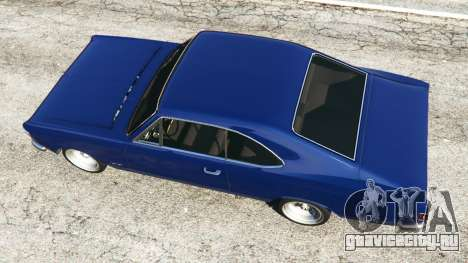 Chevrolet Opala Gran Luxo для GTA 5 вид сзади