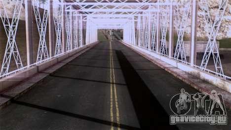 Roads Full Version LS-LV-SF для GTA San Andreas седьмой скриншот