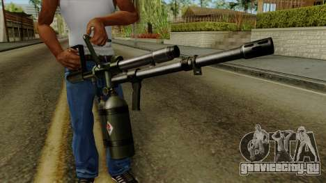Original HD Flame Thrower для GTA San Andreas третий скриншот