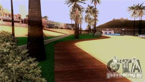 Новый пляж в Лос Сантосе для GTA San Andreas пятый скриншот