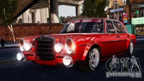 Mercedes-Benz 300 SEL 6.8 AMG W109 для GTA 4 вид сзади