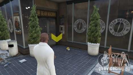 Кофейни в GTAV для GTA 5 третий скриншот