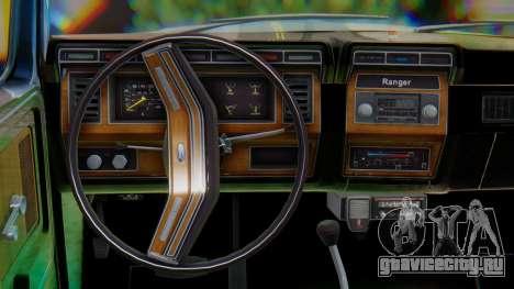 Ford F-150 1984 Final для GTA San Andreas вид изнутри
