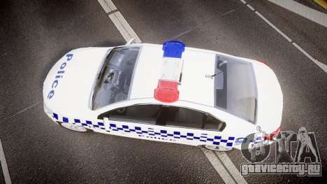 Holden VF Commodore SS NSW Police [ELS] для GTA 4 вид справа