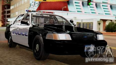 Police LS 2013 для GTA San Andreas