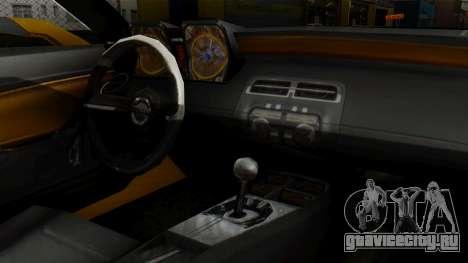 Chevrolet Camaro GT для GTA San Andreas вид справа
