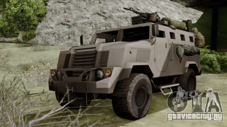 SPM-3 from Battlefiled 4 для GTA San Andreas