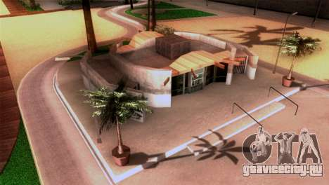 Новый пляж в Лос Сантосе для GTA San Andreas четвёртый скриншот
