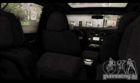 Toyota Highlander 2011 для GTA San Andreas двигатель