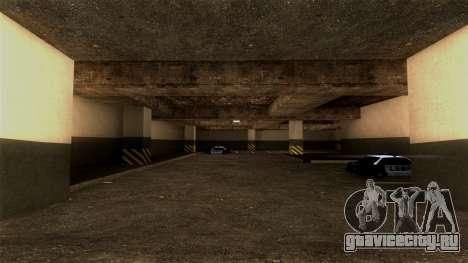 Новая парковка LSPD для GTA San Andreas второй скриншот