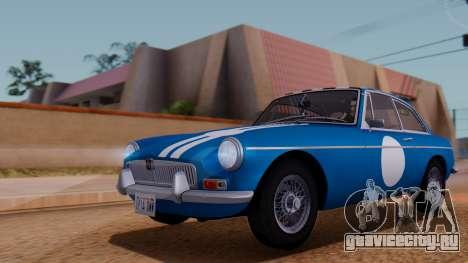 MGB GT (ADO23) 1965 IVF АПП для GTA San Andreas салон