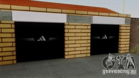 Новые текстуры старого гаража в Doherty для GTA San Andreas третий скриншот