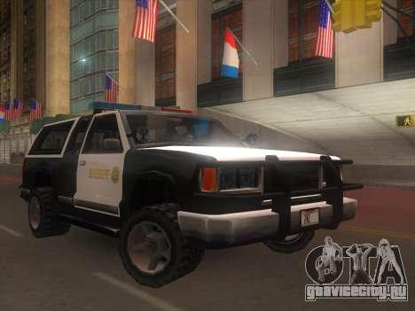 Yosemite Police 2015 для GTA San Andreas