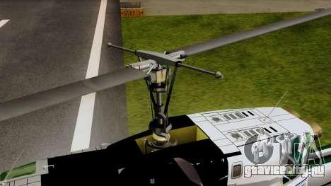 Bell UH-1N NAJA для GTA San Andreas вид сзади