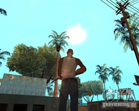 HQ Effects and Sun Final Version для GTA San Andreas второй скриншот