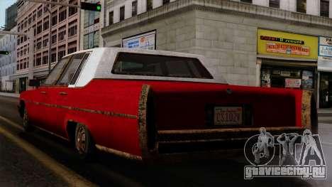 GTA 5 Albany Emperor Worn IVF для GTA San Andreas вид слева